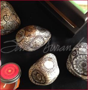 Mandalas sobre Piedras
