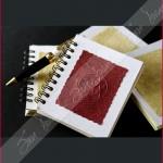 Con Mandala en alto relieve en portada sobre papel textirizado.