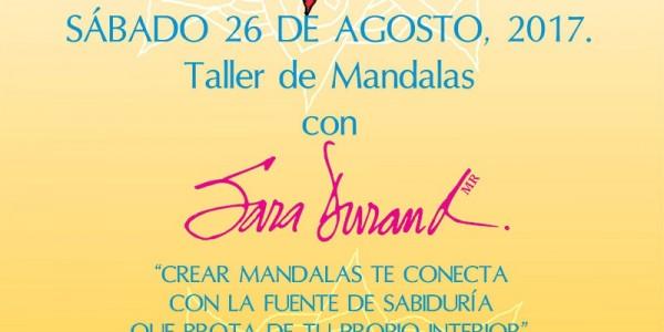 Taller de Mandalas con Sara Durand | 26 de Agosto 2017