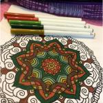 Colorear el mandala